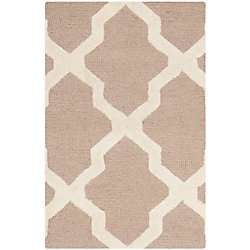 Safavieh Cambridge Giselle Beige / Ivory 2 ft. 6 inch x 4 ft. Indoor Area Rug