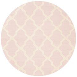 Safavieh Cambridge Giselle Light Pink / Ivory 6 ft. x 6 ft. Indoor Round Area Rug