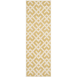 Safavieh Chatham Oakly Light Gold / Ivory 2 ft. 3 inch x 7 ft. Indoor Runner