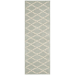 Safavieh Chatham Philip Light Blue / Ivory 2 ft. 3 inch x 5 ft. Indoor Runner