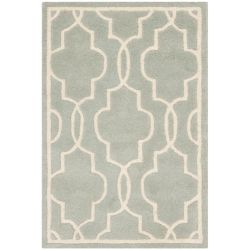 Safavieh Chatham Pascal Grey / Ivory 3 ft. x 5 ft. Indoor Area Rug