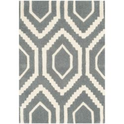 Safavieh Chatham Beau Dark Grey / Ivory 2 ft. x 3 ft. Indoor Area Rug