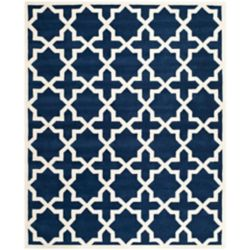 Safavieh Chatham Carlton Dark Blue / Ivory 8 ft. x 10 ft. Indoor Area Rug