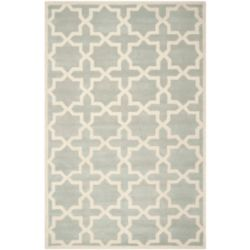 Safavieh Chatham Carlton Grey / Ivory 6 ft. x 9 ft. Indoor Area Rug