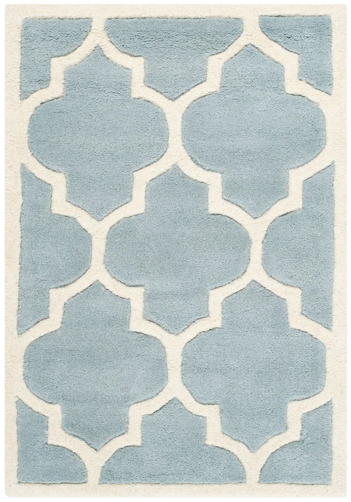 Chatham Caprice Blue / Ivory 3 ft. x 5 ft. Indoor Area Rug