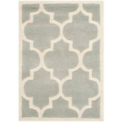 Safavieh Chatham Caprice Grey / Ivory 2 ft. x 3 ft. Indoor Area Rug