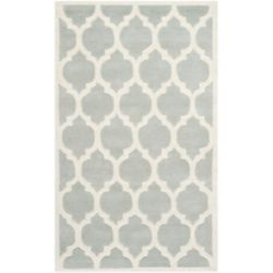 Safavieh Chatham Candace Grey / Ivory 3 ft. x 5 ft. Indoor Area Rug