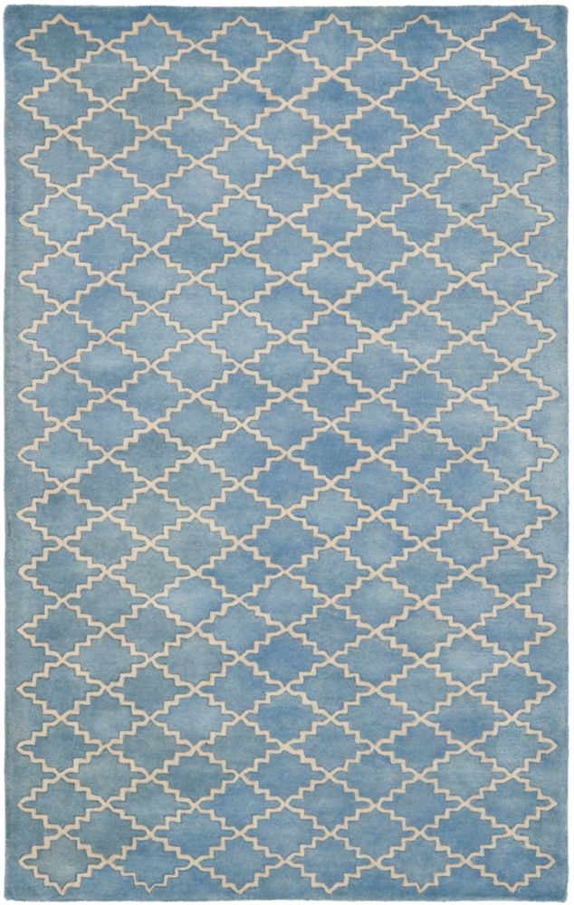 Safavieh Chatham Adam Blue Grey 4 ft. x 6 ft. Indoor Area Rug