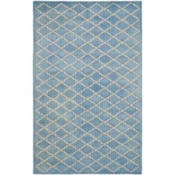 Safavieh Chatham Adam Blue Grey 4 ft. x 6 ft. Indoor Area Rug