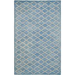 Safavieh Chatham Adam Blue Grey 5 ft. x 8 ft. Indoor Area Rug