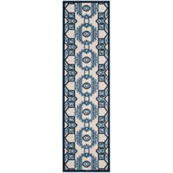 Safavieh Cottage Kierra Ivory / Blue 2 ft. 3 inch x 8 ft. Indoor/Outdoor Runner