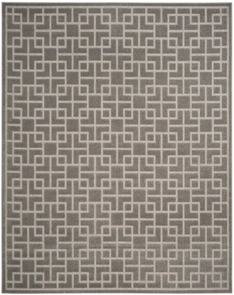 Safavieh Cottage Otis Grey 8 ft. x 11 ft. 2 inch Indoor/Outdoor Area Rug