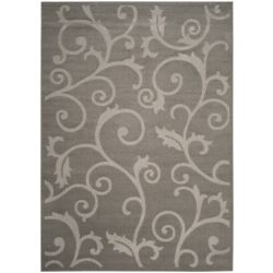 Safavieh Cottage Oliver Grey / Light Grey 8 ft. x 11 ft. 2 inch Indoor/Outdoor Area Rug
