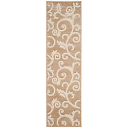 Safavieh Cottage Oliver Light Beige / Cream 2 ft. 3 inch x 8 ft. Indoor/Outdoor Runner