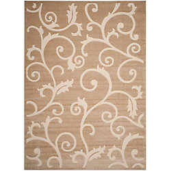 Safavieh Cottage Oliver Light Beige / Cream 8 ft. x 11 ft. 2 inch Indoor/Outdoor Area Rug