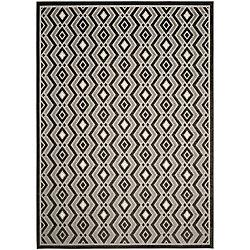 Safavieh Cottage Andrew Dark Grey / Light Grey 8 ft. x 11 ft. 2 inch Indoor/Outdoor Area Rug