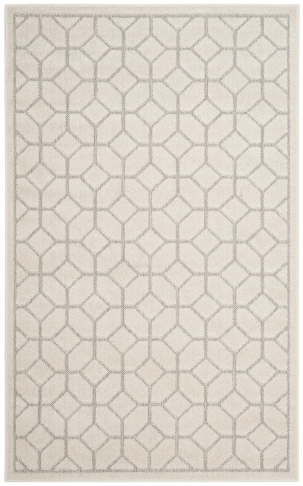 Safavieh Cottage Paolo Light Grey / Cream 3 ft. 3 inch x 5 ft. 3 inch Indoor/Outdoor Area Rug