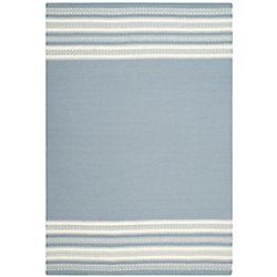 Safavieh Dhurries Selma Grey 6 ft. x 9 ft. Indoor Area Rug