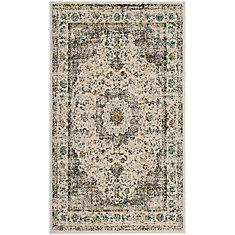 Mohawk Home Gemma Gold 5 Ft X 7 Ft Area Rug The Home
