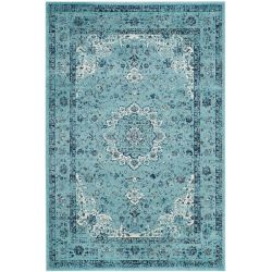 Safavieh Evoke Jaime Light Blue 6 ft. 7 inch x 9 ft. Indoor Area Rug