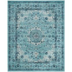 Safavieh Evoke Jaime Light Blue 8 ft. x 10 ft. Indoor Area Rug
