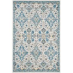 Safavieh Evoke Isadora Ivory / Light Blue 8 ft. x 10 ft. Indoor Area Rug