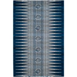 Safavieh Evoke Sabrina Royal / Ivory 5 ft. 1 inch x 7 ft. 6 inch Indoor Area Rug