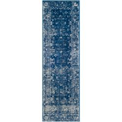 Safavieh Evoke Emma Navy / Ivory 2 ft. 2 inch x 11 ft. Indoor Runner