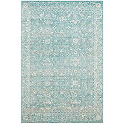 Safavieh Evoke Emma Light Blue / Ivory 5 ft. 1 inch x 7 ft. 6 inch Indoor Area Rug