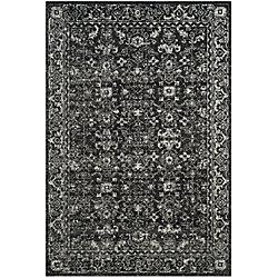Safavieh Evoke Emma Charcoal / Ivory 5 ft. 1 inch x 7 ft. 6 inch Indoor Area Rug