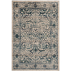 Safavieh Evoke Jefferson Beige / Blue 5 ft. 1 inch x 7 ft. 6 inch Indoor Area Rug
