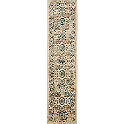 Safavieh Evoke Donna Beige / Turquoise 2 ft. x 10 ft. Indoor Runner
