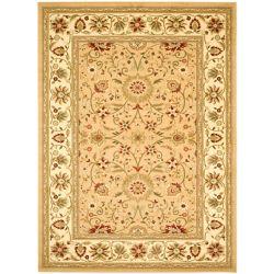 Safavieh Tapis d'intérieur, 6 pi x 9 pi, Lyndhurst Byron, beige / ivoire
