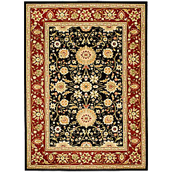 Safavieh Lyndhurst Byron Black / Red 8 ft. x 11 ft. Indoor Area Rug