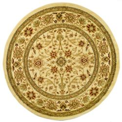 Safavieh Lyndhurst Byron Ivory 5 ft. 3 inch x 5 ft. 3 inch Indoor Round Area Rug