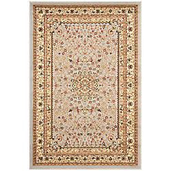 Safavieh Lyndhurst Eva Grey / Beige 5 ft. 3 inch x 7 ft. 6 inch Indoor Area Rug