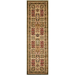 Safavieh Lyndhurst Zoe Multi / Green 2 ft. 3 inch x 20 ft. Indoor Runner