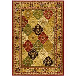 Safavieh Lyndhurst Emir Multi / Red 5 ft. 3 inch x 7 ft. 6 inch Indoor Area Rug