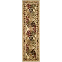 Safavieh Lyndhurst Emir Multi / Beige 2 ft. 3 inch x 8 ft. Indoor Runner