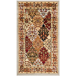 Safavieh Lyndhurst Emir Grey / Multi 3 ft. 3 inch x 5 ft. 3 inch Indoor Area Rug