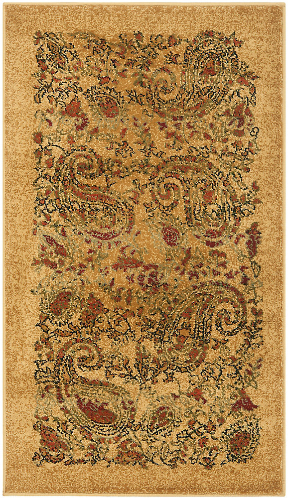 Lyndhurst Devon Beige / Multi 3 ft  3 inch x 5 ft  3 inch Indoor Area Rug