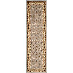 Safavieh Lyndhurst Adria Light Blue / Ivory 2 ft. 3 inch x 11 ft. Indoor Runner