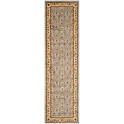 Safavieh Lyndhurst Adria Light Blue / Ivory 2 ft. 3 inch x 12 ft. Indoor Runner