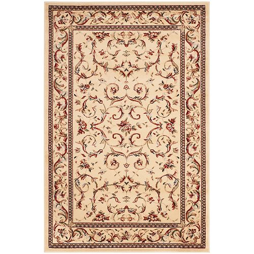 Safavieh Lyndhurst Gina Ivory 4 ft. x 6 ft. Indoor Area Rug