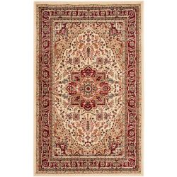 Safavieh Lyndhurst Thane Ivory / Red 3 ft. 3 inch x 5 ft. 3 inch Indoor Area Rug
