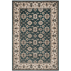 Safavieh Lyndhurst Hank Teal / Cream 4 ft. x 6 ft. Indoor Area Rug