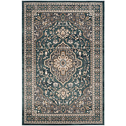 Safavieh Lyndhurst Holly Teal / Grey 8 ft. x 10 ft. Indoor Area Rug