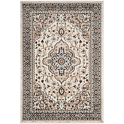 Safavieh Lyndhurst Holly Cream / Beige 5 ft. 3 inch x 7 ft. 6 inch Indoor Area Rug