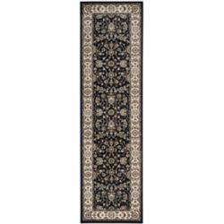 Safavieh Lyndhurst Alec Anthracite / Cream 2 ft. 3 inch x 8 ft. Indoor Runner