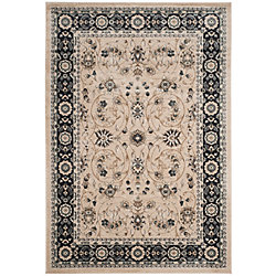 Safavieh Lyndhurst Alec Light Beige / Anthracite 5 ft. 3 inch x 7 ft. 6 inch Indoor Area Rug